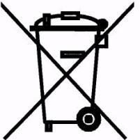 Išeikvotų akumuliatorių konteinerių ženklinimas
